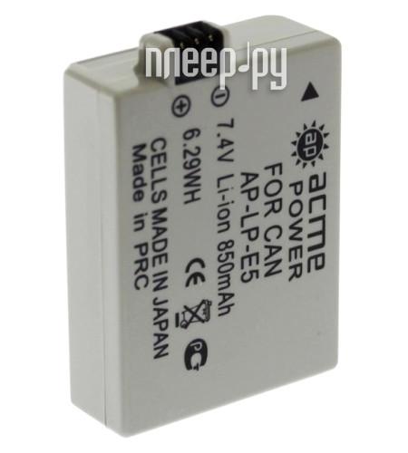 Аккумулятор AcmePower LP-E5 / NP-5  Pleer.ru  347.000