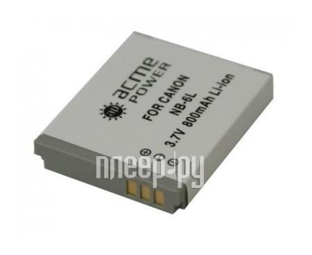 Аккумулятор AcmePower NB-6L  Pleer.ru  822.000