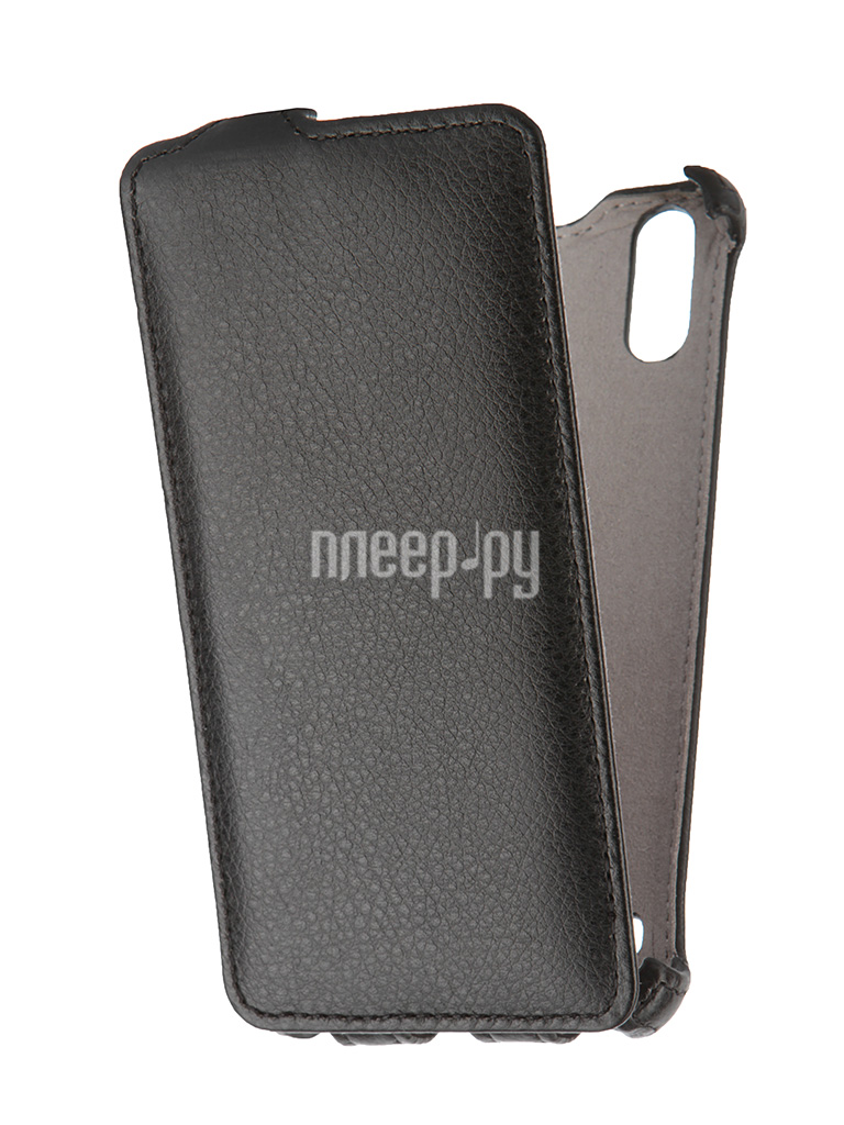 Аксессуар Чехол Lenovo K3 Gecko Black GG-F-LENK3ML-BL