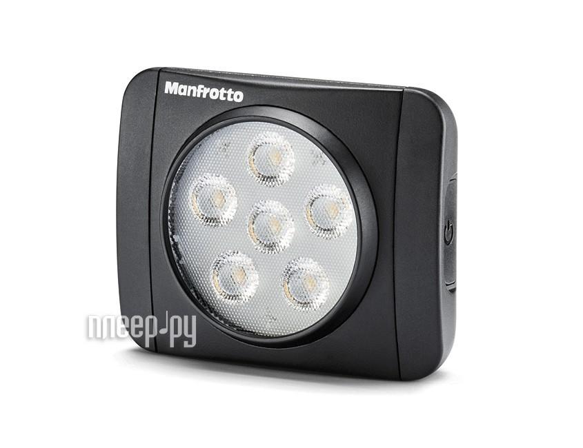 Накамерный свет Manfrotto MLUMIEART-BK LED Lumie Art