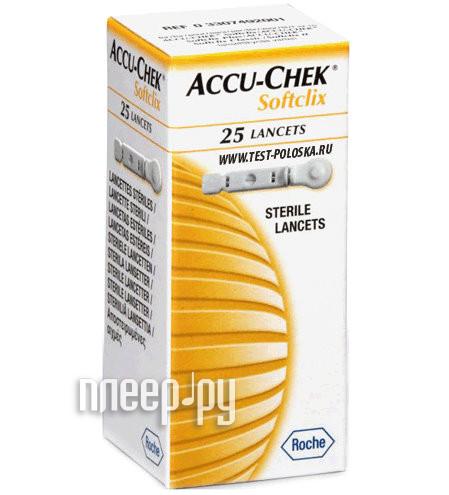 Аксессуар Accu-Chek Софткликс №25 ланцеты
