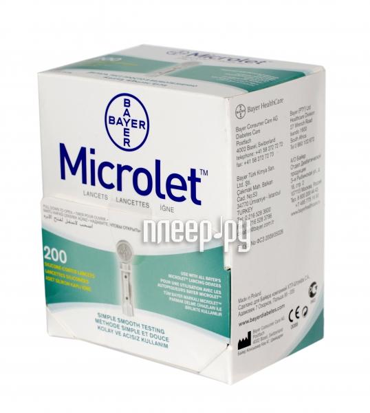 Аксессуар Bayer Microlet № 200 ланцеты
