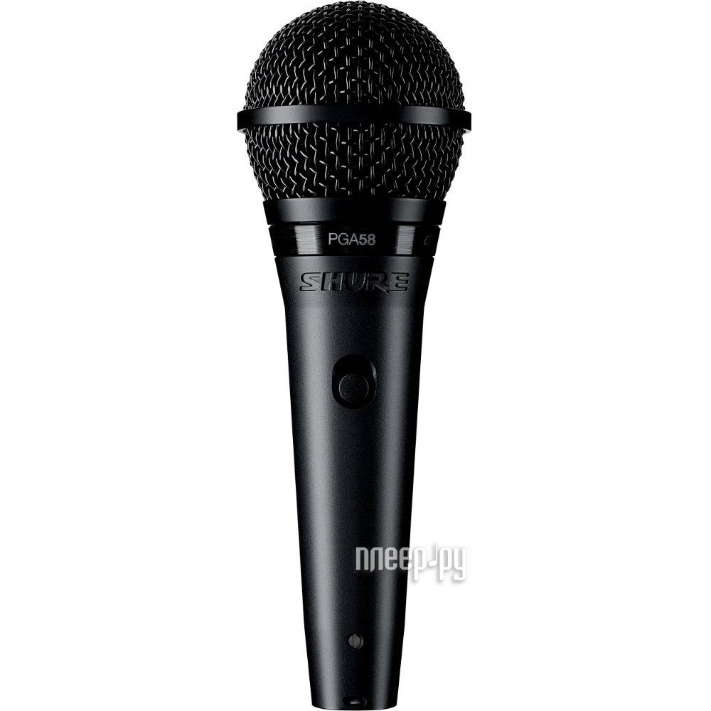 Микрофон SHURE PGA58-QTR-E