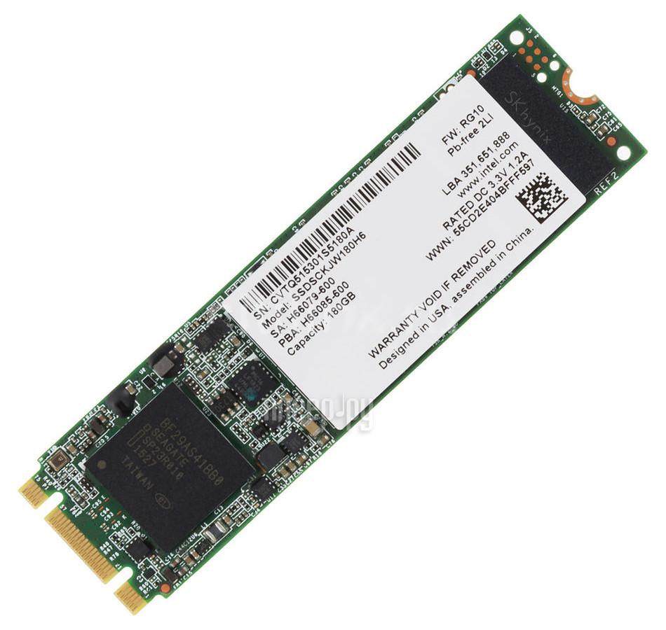 Жесткий диск 180Gb - Intel 535 Series SSDSCKJW180H601