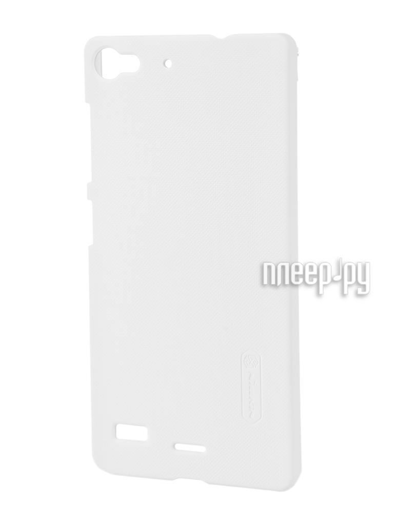Аксессуар Чехол Lenovo Vibe X2 Nillkin Frosted Shield White