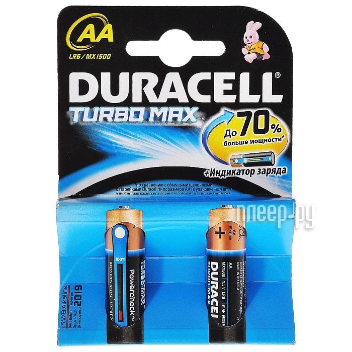 AA - Duracell Turbo LR6-MN1500 (2 штуки)  Pleer.ru  107.000