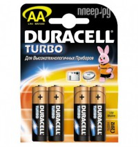 Батарейка AA - Duracell Turbo MAX LR6-MN1500 / MX1500 NEW (4 штуки)