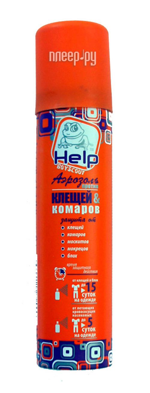 Средство защиты от комаров Boyscout Help 80221 - аэрозоль от клещей и комаров 75ml
