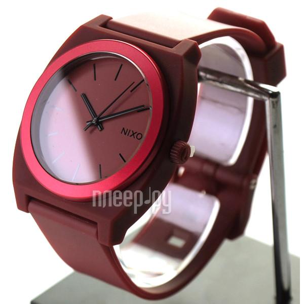 Часы Nixon Time Teller P Dark Red Ano
