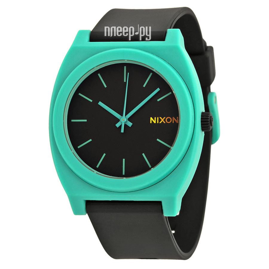 Часы Nixon Time Teller P Black Teal