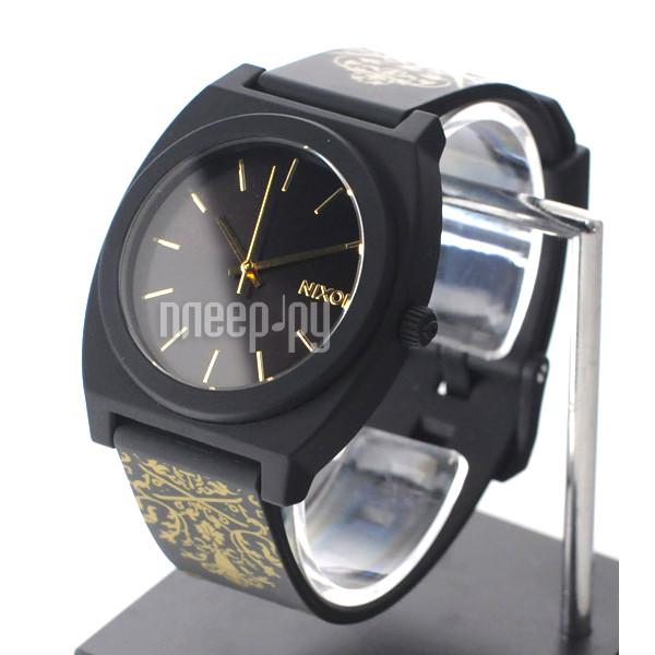 Часы Nixon Time Teller P Black-Gold Ornate