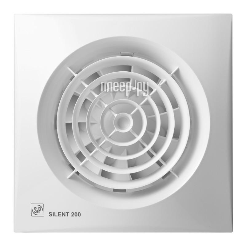 Вытяжной вентилятор Soler & Palau SILENT-200 CHZ White