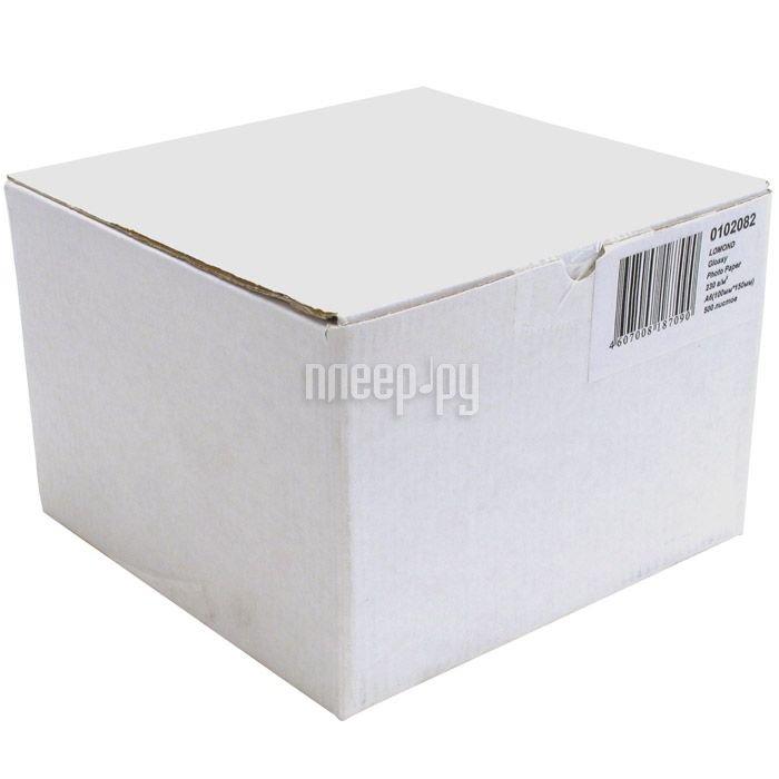 Фотобумага Lomond 0102082 глянцевая 230g / m2 500 листов