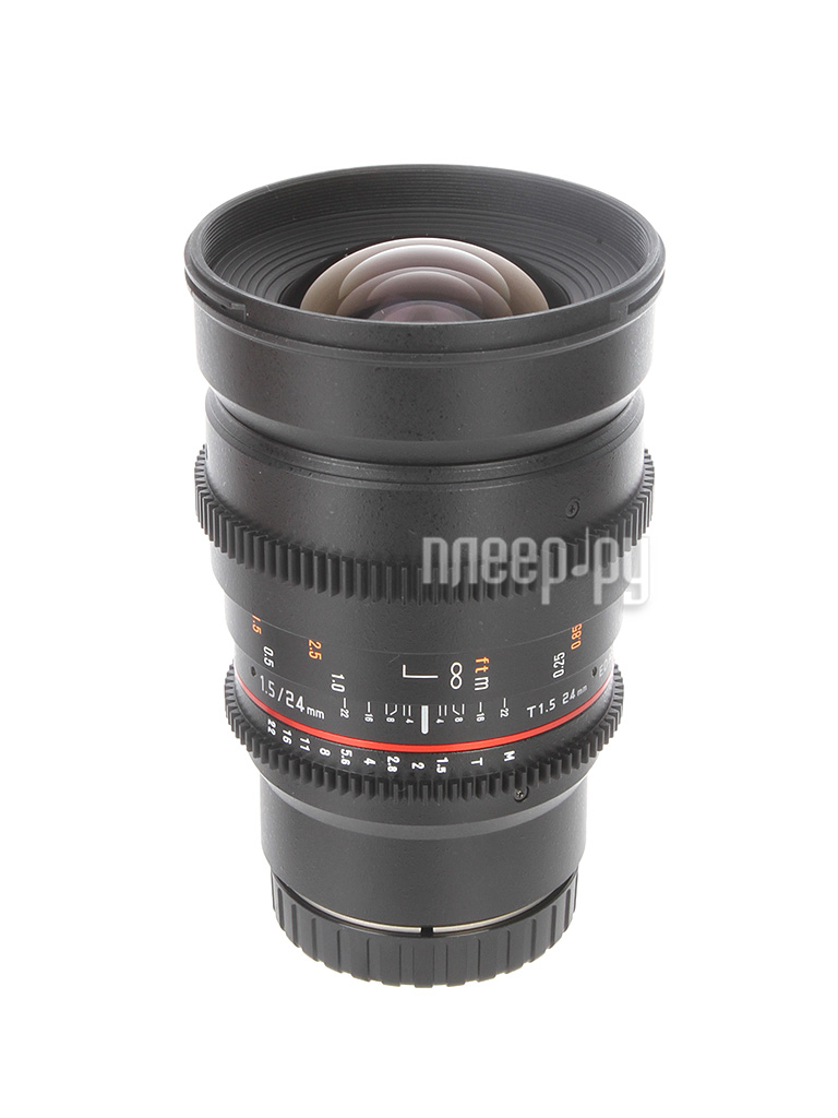 Объектив Samyang Canon M MF 24 mm T1.5 AS ED IF UMC II VDSLR II