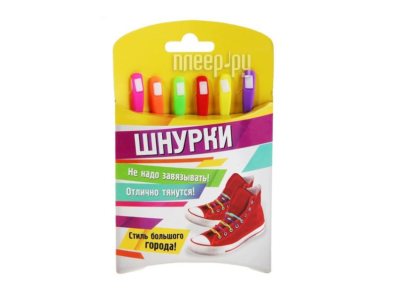 Гаджет СИМА-ЛЕНД Шнурки резиновые Multicolor 332620