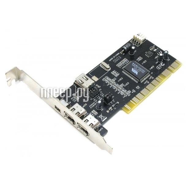Контроллер ATcom PCI-1394 FireWire AT7804