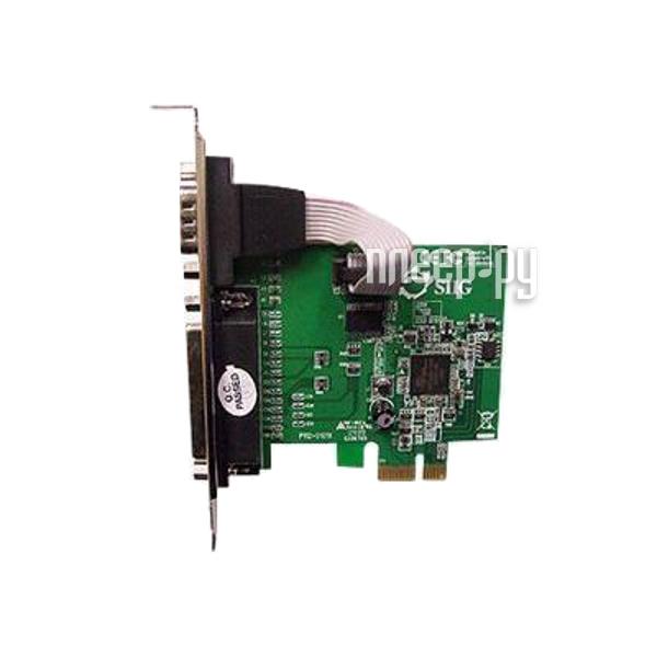 Контроллер ATcom PCI-E Parallel + Serial AT16082