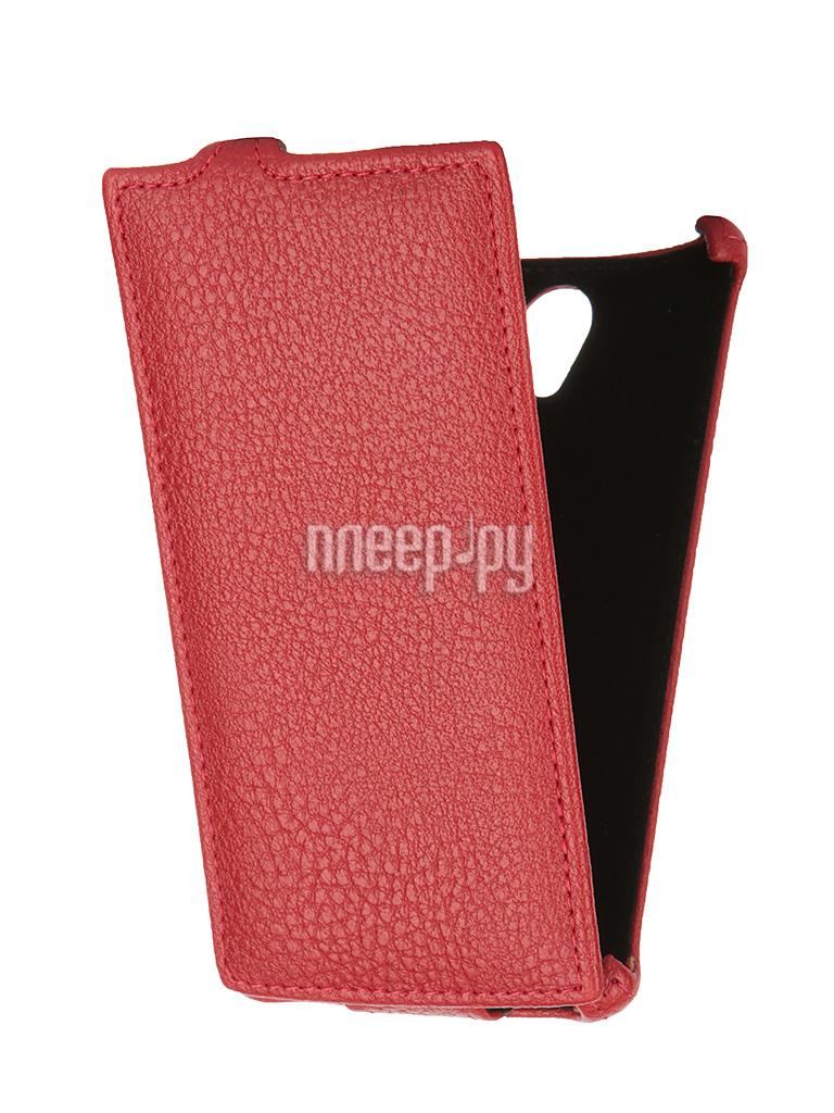 Аксессуар Чехол Philips S398 Gecko GG-F-PHS398-RED Red