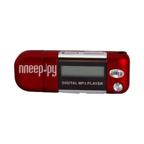 Плеер Perfeo Music Strong VI-M010-8GB Red