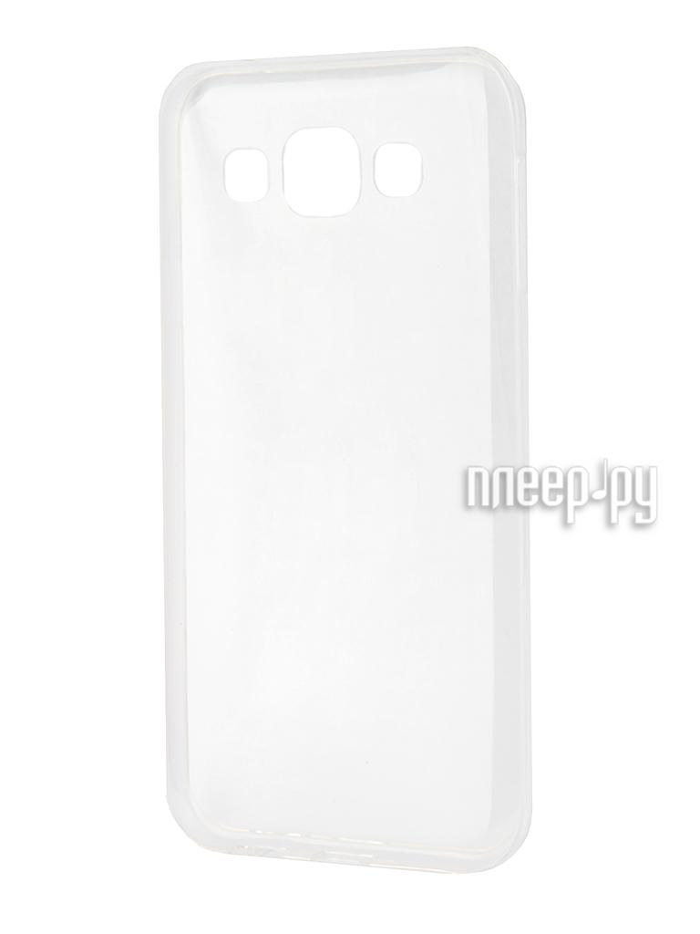 Чехол-накладка Gecko for Samsung Galaxy J1 J120F 2016 силиконовый Transparent White S-G-SGJ1-2016-WH