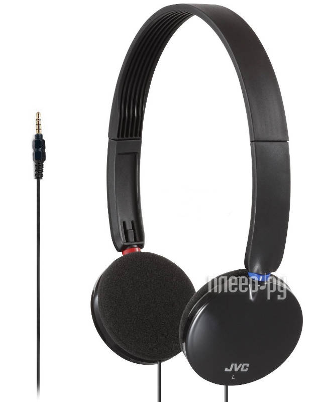 Наушники JVC HA-SR170-B Black за 841 рублей