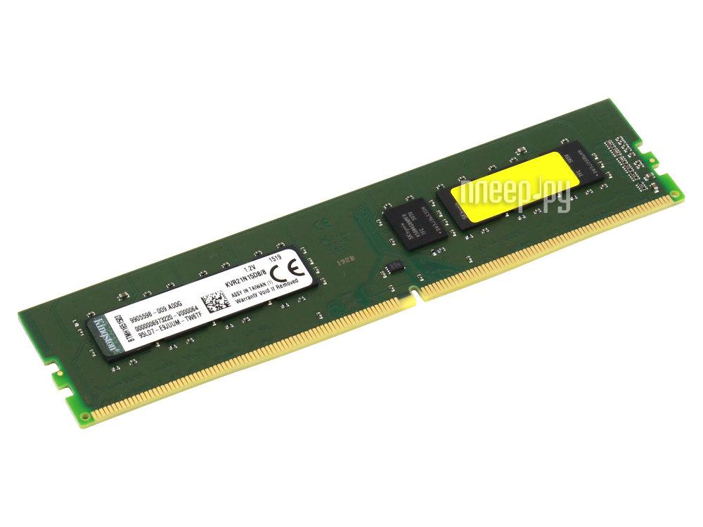 Модуль памяти Kingston PC4-17000 DIMM DDR4 2133MHz CL15 - 8Gb KVR21N15D8/8