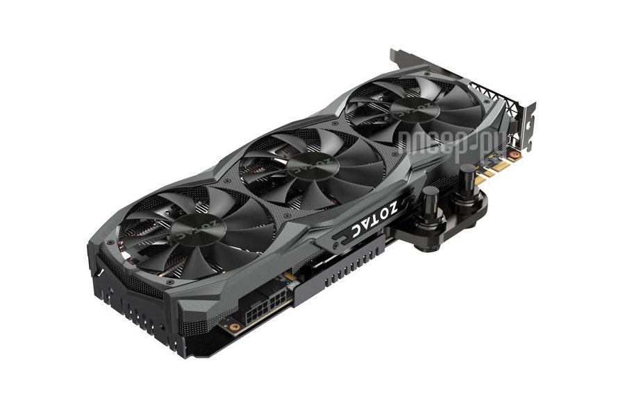 Видеокарта Zotac GeForce GTX 980 Ti 1025Mhz PCI-E 3.0 6144Mb 7010Mhz 384 bit DVI HDMI HDCP ZT-90502-10P