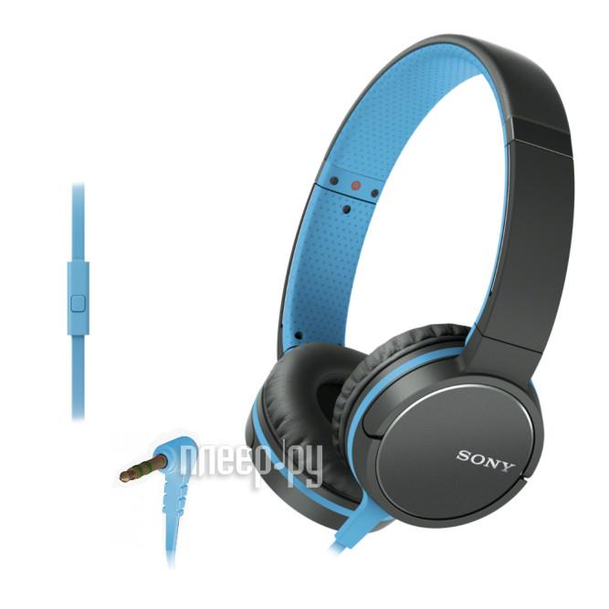 Гарнитура Sony MDR-ZX660AP Blue