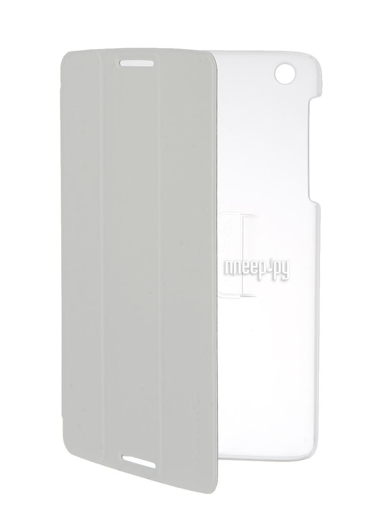 Аксессуар Чехол Lenovo A8-50 Folio Case and Film White-WW 888016507