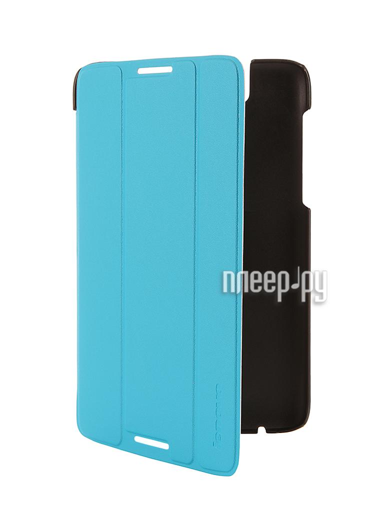 Аксессуар Чехол Lenovo A7-50 Folio Case and Film Blue-WW 888016551