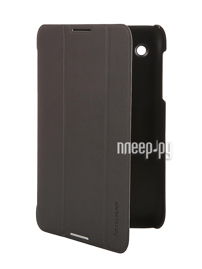 Аксессуар Чехол Lenovo A7-30 Folio Case and Film Black-WW 888017534