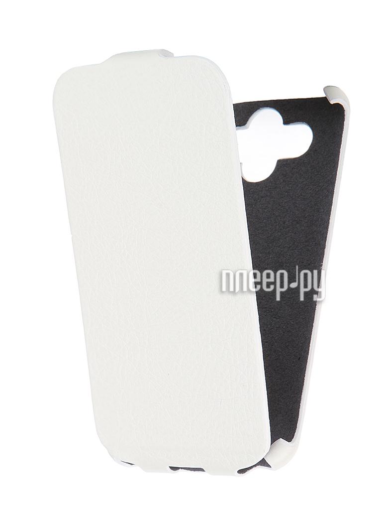 Аксессуар Чехол-книжка Mariso for LG AKA Ultra Slim экокожа White Флотер MUSLGAKA