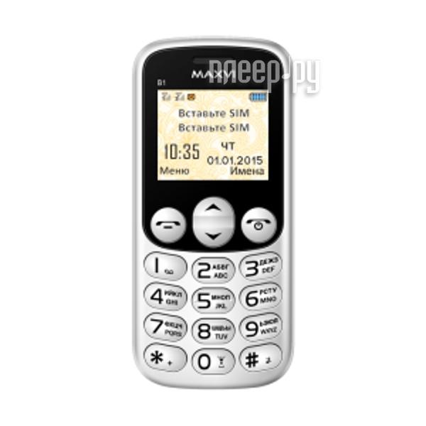 Сотовый телефон Maxvi B1 White
