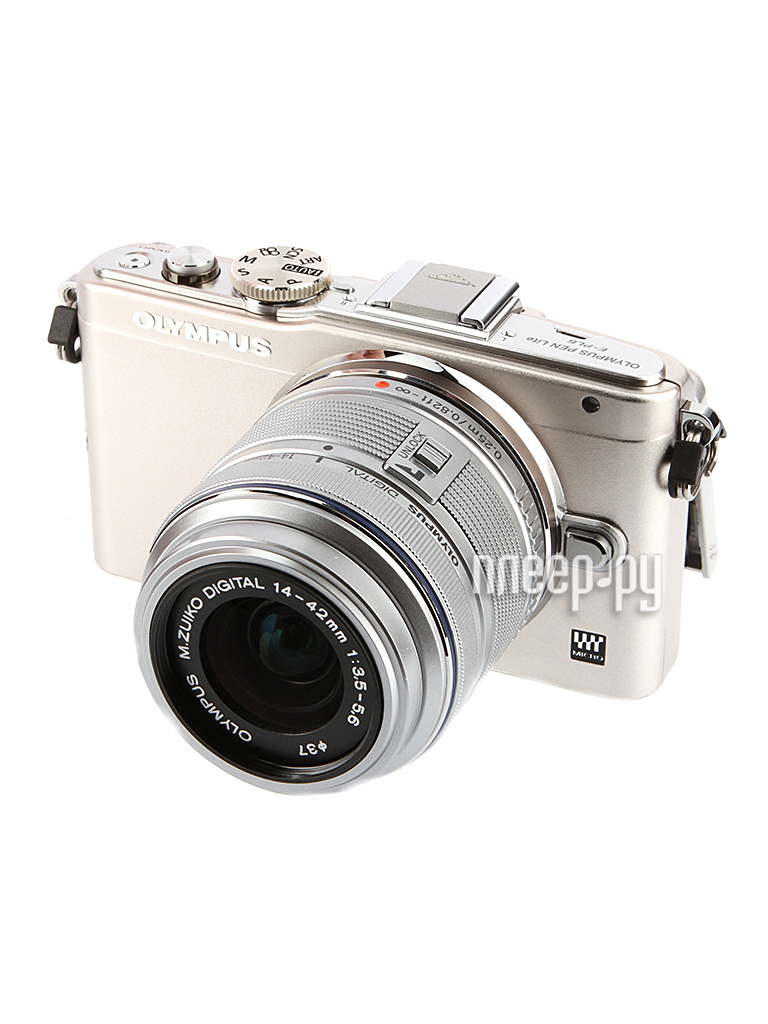 Фотоаппарат Olympus PEN E-PL6 Kit 14-42 mm II R Silver