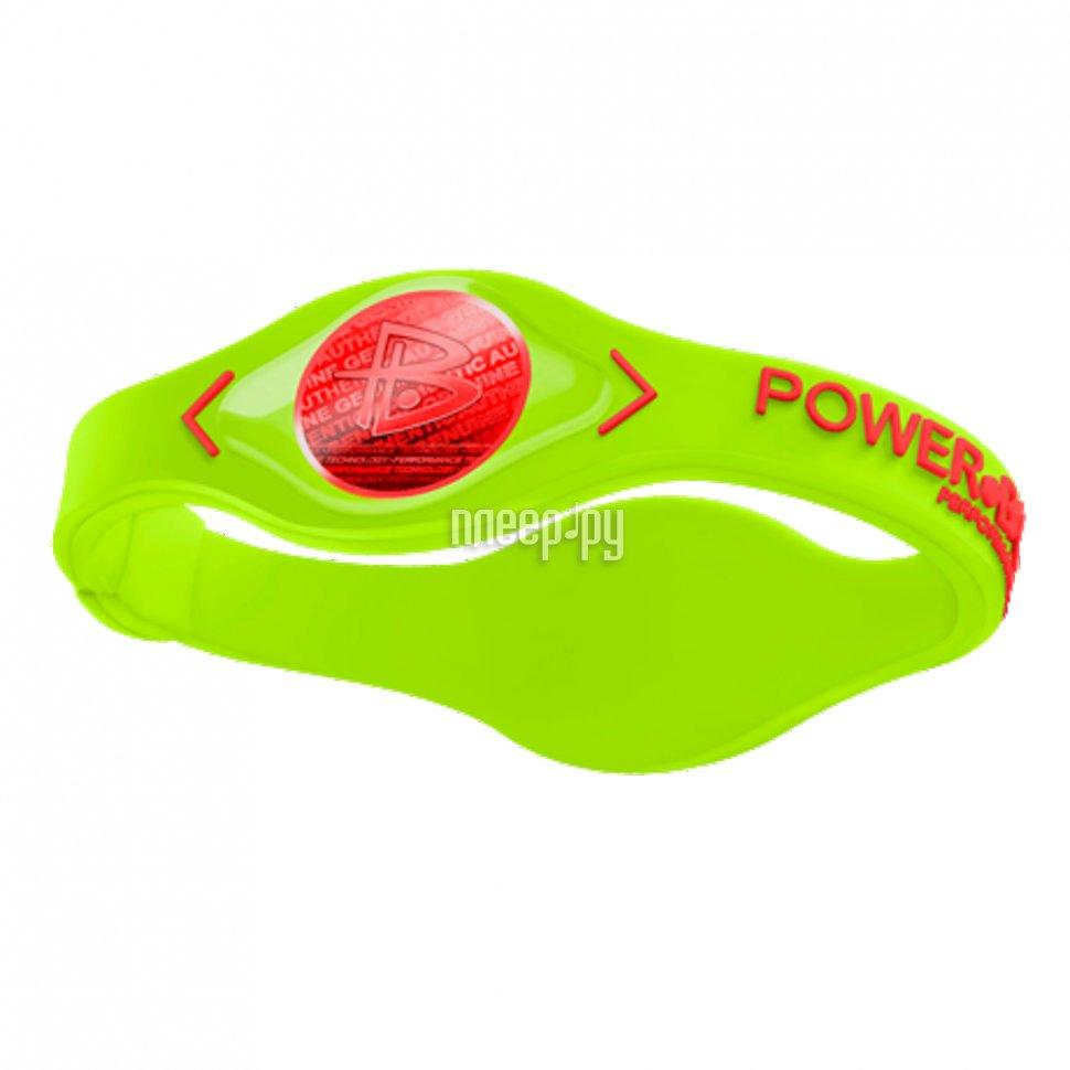 Браслет POWER BALANCE XS VOLT Red Hologram Green / Red