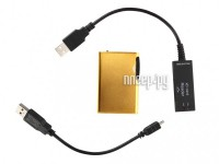 Диктофон Edic-mini Tiny xD A69-300h - 2Gb Gold