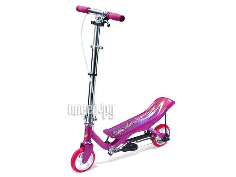 Самокат Space Scooter Junior X360 Pink