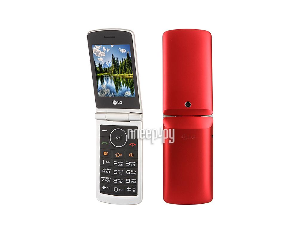 Сотовый телефон LG G360 Red