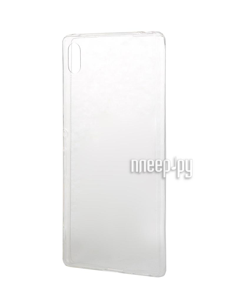 Аксессуар Чехол-накладка Sony Xperia Z3+ BROSCO силиконовый Transparent Z3PLUS-TPU-TRANSPARENT