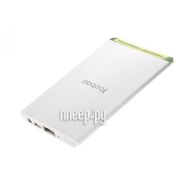 Аккумулятор Yoobao Power Bank Cool-Slim YB-681 3500mAh White