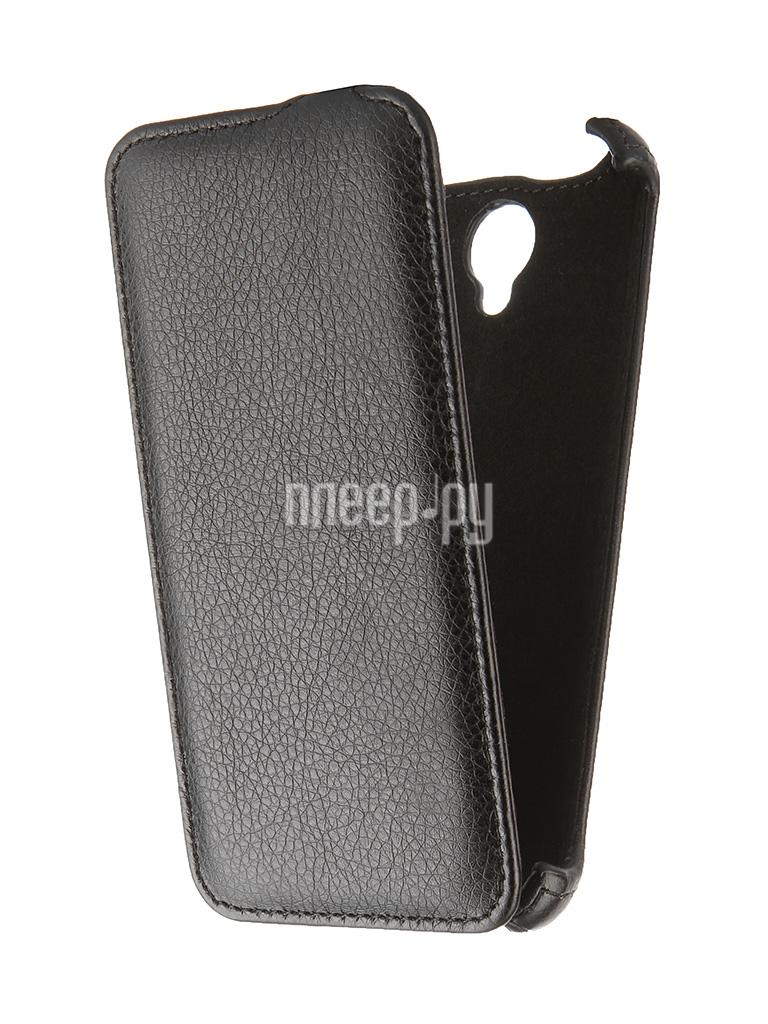 Аксессуар Чехол Lenovo A5000 Gecko Black GG-F-LENA5000-BL
