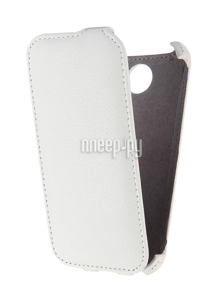 Аксессуар Чехол Lenovo A516 Gecko White GG-F-LENA516-WH