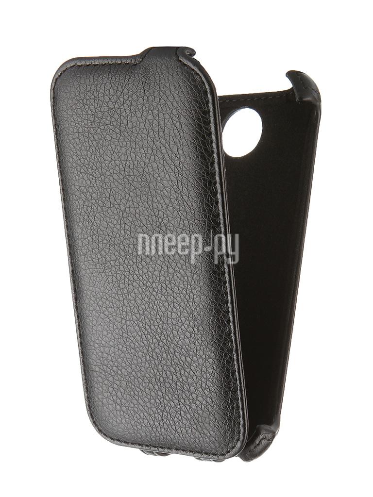 Аксессуар Чехол Lenovo A516 Gecko Black GG-F-LENA516-BL