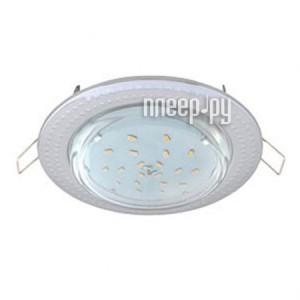 Купить Светильник Ecola GX53 H4 Чеканка Chrome FC61H4ECB