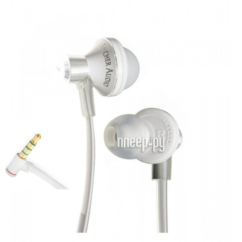 Гарнитура Fischer Audio iCon White за 914
