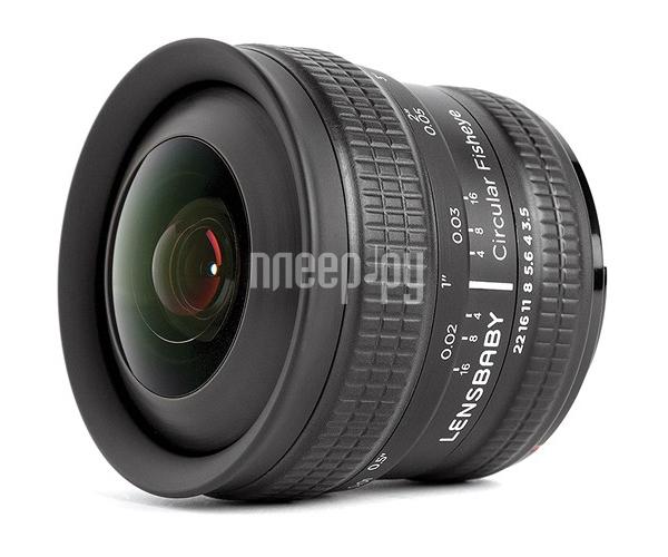Объектив Lensbaby Circular Fisheye for Fuji X 83053 / LBCFEF