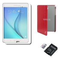 Samsung SM-T355 Galaxy Tab A 8.0 - 16Gb LTE White �������� �����!!! SM-T355NZWASER (Qualcomm Snapdragon APQ8016 1.2 GHz/2048Mb/16Gb/Wi-Fi/Bluetooth/Cam/8.0/1024x768/Android)