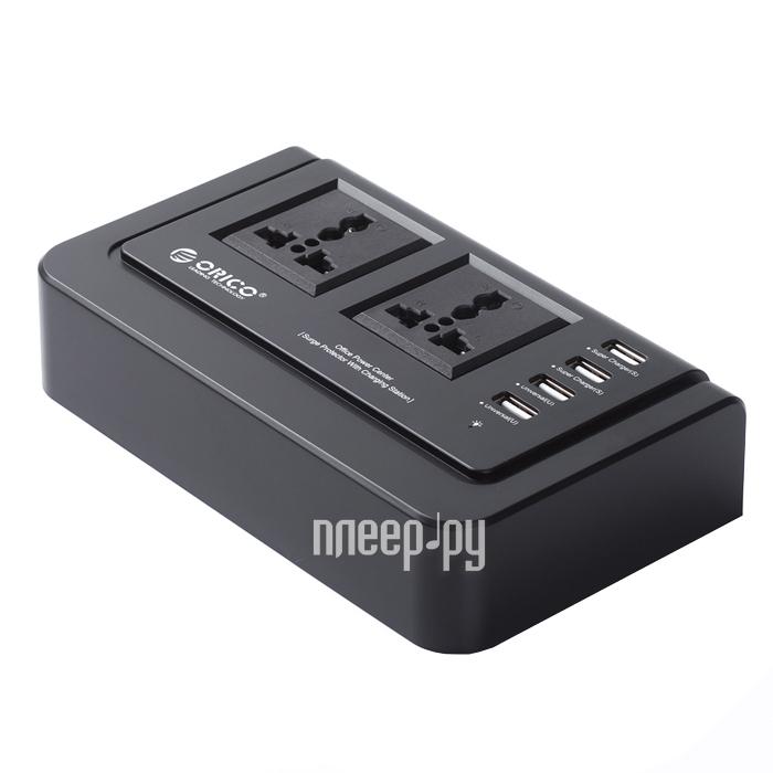 Зарядное устройство Orico OPC-2A4U-BK Black