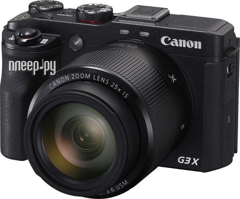Фотоаппарат Canon PowerShot G3 X*