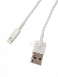 Аксессуар Continent USB A - APPLE Lightning 1m White DCI-2100WT / DCI-2104WT